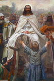 Jesús en Ramos Domingo Fotos de archivo libres de regalías