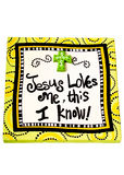 Jesús me quiere Fotografía de archivo libre de regalías