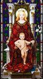 Jesús y Maria Imagen de archivo libre de regalías
