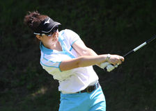 Jes Rigby at the Fourqueux Ladies Open 2013 Stock Images
