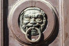 Jesi - Ancient door, detail Stock Image