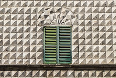 Jesi (Marches, Italy) - Window Royalty Free Stock Images