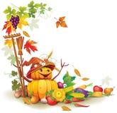 Jesień żniwo ilustracji