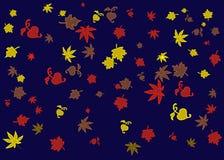 jesień abstrakcjonistyczny tło Zdjęcie Royalty Free