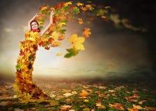 Jesień anioł zdjęcia stock