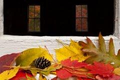 jesień barwi liść Obrazy Stock