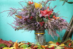 Jesień bukiet fotografia stock