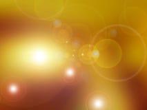 Jesień ciepły światło słoneczne Zdjęcia Stock