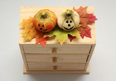 jesień cisawy dekoraci winogron Październik granatowa drewno Zdjęcia Stock