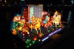 jesień clarke festiwalu w połowie quay Singapore Fotografia Royalty Free