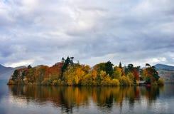 jesień colours derwentwater zdjęcia stock