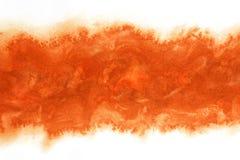 Jesień czerwonego atramentu sezonowy abstrakt lub rocznik akwareli farby tło ilustracja wektor