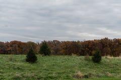Jesień dukt w Zachodnim Lafayette, Indiana obraz royalty free