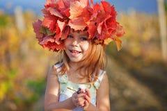 jesień dziecko zdjęcia stock