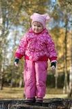 jesień dziewczyna Lin trochę Zdjęcia Royalty Free