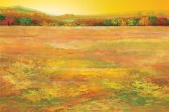 jesień elementów krajobrazowe warstwy oddzielają wektor Zdjęcie Stock