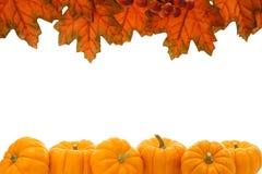 jesień granica Zdjęcie Royalty Free