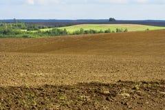 jesień graniczył tillage Zdjęcie Stock