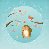 Jesień kartka z pozdrowieniami Fotografia Stock