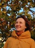 jesień kobieta zdjęcia royalty free