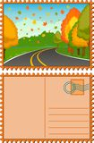 jesień krajobraz Obraz Royalty Free
