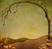 Jesień krajobraz Obrazy Stock
