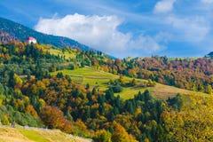 Jesień krajobraz Zdjęcie Royalty Free
