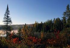 Jesień krajobraz zdjęcia royalty free