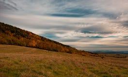 Jesień krajobraz, Bułgaria Obraz Stock