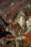 jesień krajobrazowy gór wschód słońca Obraz Royalty Free