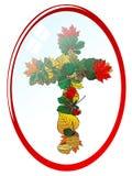 jesień krzyż Zdjęcia Royalty Free