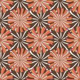 Jesień kwiecisty wzór Wektorowa bezszwowa tło tekstura Moda druk dla tekstylnej tkaniny pakuje projekt ilustracja wektor