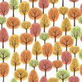 jesień las royalty ilustracja