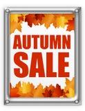 Jesień leafs sprzedaż Zdjęcie Stock
