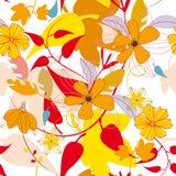 jesień liść wzór Zdjęcia Royalty Free