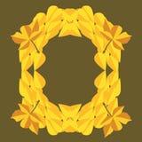 Jesień liści ikona Obraz Royalty Free