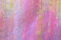 Jesień liści pastelu tekstura Abstrakta zamazany tło Strzelający z panning techniką Fotografia Royalty Free