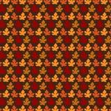 Jesień liścia wzór Zdjęcie Royalty Free