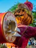 Jesień Muzyczny mężczyzna obrazy stock
