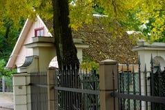 jesień ogród botaniczny obrazy stock
