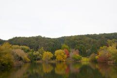 Jesień opóźniona scena Obrazy Royalty Free