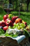 jesień owoc żniwa sezonowy wino Obrazy Royalty Free