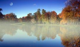 Jesień park, St Petersburg, Rosja Obrazy Royalty Free