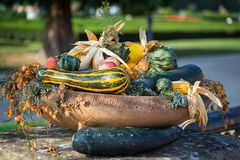 Jesień piękna dekoracja zdjęcia stock