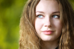 jesień piękna kobiety potomstwa obraz royalty free