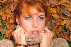 jesień piękno Zdjęcia Royalty Free