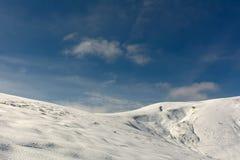 Jesień pierwszy śnieg Zdjęcia Royalty Free