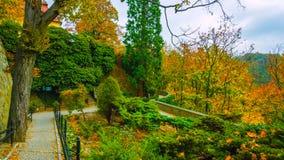 Jesień po wiosny w północy kraj w Polska bardzo piękny atmosfera obrazek nabierający 2019 obrazy stock