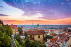 jesień Prague obraz royalty free