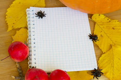 Jesień przepisy Zdjęcie Royalty Free